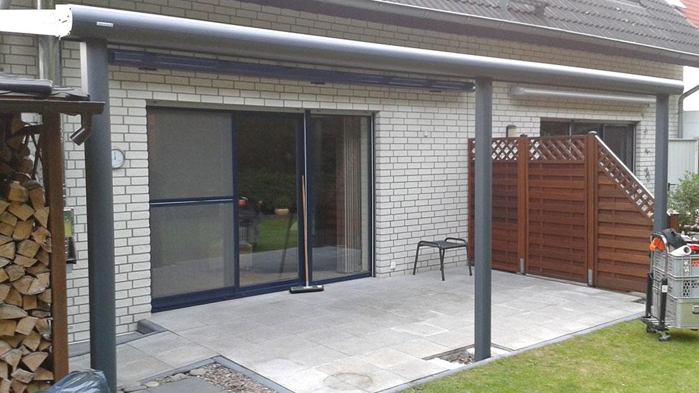 terrassen berdachung regenrinne team is tec ihr spezialist f r alu berdachungen. Black Bedroom Furniture Sets. Home Design Ideas